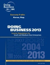 Doing business in korea(wb) 2013