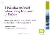 7 Mistakes to Avoid when doing Busi...