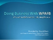 Doing Business With Wpafb