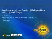 Accelerate your Lotus Domino Web Ap...