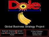 Dole Sustainability Analysis