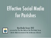 Effective Social Media for Your Par...