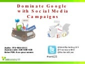 How to Dominate Google with Social ...