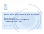 Donna Garren, Ph.D. Vp Food Safet...