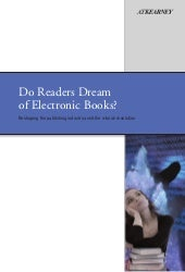 Do readers dream of e books (atkear...
