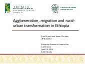 Agglomeration, Migration and Rural-...