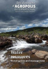 Water resources - Preservation and ...