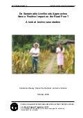 Do sustainable livelihoods approaches have a positive impact of the rural poor   a look at twelve case studies