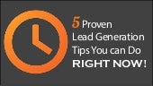 5 Proven Lead Generation Tips