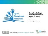 OER & Open Textbooks