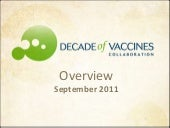 Decade of Vaccines Collaboration Ov...