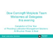 Dow Corning® Molykote Team Welcomes...
