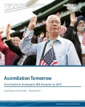 U.S. Hispanics assimilation report ...