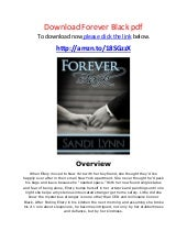 Download forever black pdf