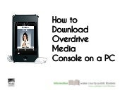 How to Download Overdrive Media Console on a PC
