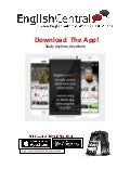 Download the EnglishCentral app