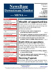 MENA Downstream Launch Issue