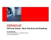 DPC2007 PHP And Oracle (Kuassi Mensah)