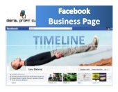 Facebook Business Page Timeline