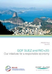 GDF SUEZ RIO + 20 PRESS FILE