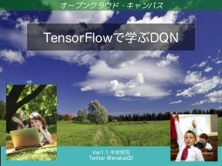 TensorFlowで学ぶDQN