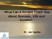 Dr  Joe Capista Presentation Video ...