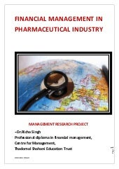 Financial Planning in Pharmaceutica...