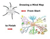 Drawing A Mind Map From Start To Fi...