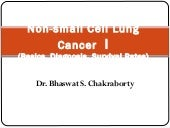 Non small cell lung cancer I