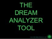 Dream Analyzer Tool
