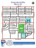 Dreamland Villa - Mesa AZ | Community Street Map