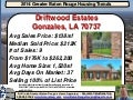 Driftwood Estates Gonzales Louisiana Home Prices Report 2014