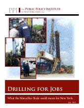 Drilling for Jobs - What the Marcel...