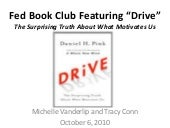 Drive - Book Club Book Overview