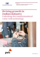 Driving  growth in Indian manufacturing industry