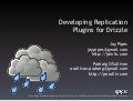 Developing Drizzle Replication Plugins