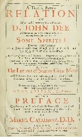Dr John Dee -  Communications With ...