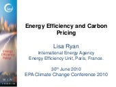 Energy Efficiency and Carbon Pricin...