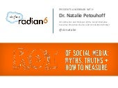 WEBINAR: ROI of Social Media: Myths, Truths and How to Measure