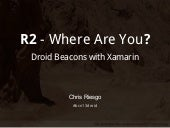 Droid Beacons with Xamarin