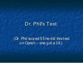 Dr philtest 1