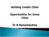 Green Regulation for Cities , Ramac...