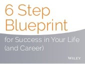 6 Step Blueprint for Success in Your Life (and Career)