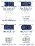 DRUG TESTING PROMOTIONAL CARD