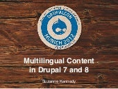 Multilingual Content in Drupal 7 & ...