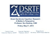 Down Syndrome Cognition Research: A...