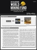 DSP BlackRock World Mining Fund
