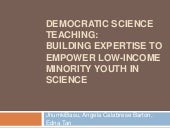 Democratic Science Teaching:  Build...