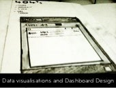 Designing Data Visualisations & Dashboard in Web Applications