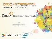 DTCC '14 Spark Runtime Internals
